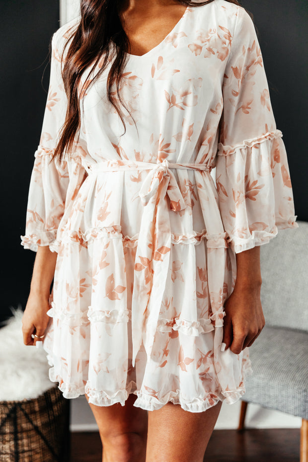 Blooming into Spring Dress - Shop Amour Boutique Online