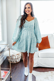 Southern Sweetheart Dress: Sage - Shop Amour Boutique Online