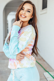 Lolli Tie Dye Crewneck Sweatshirt - Shop Amour Boutique Online