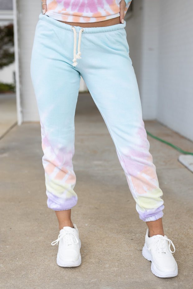 Lolli Tie Dye Joggers - Shop Amour Boutique Online