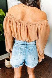 Just a Ginger Top - Shop Amour Boutique Online