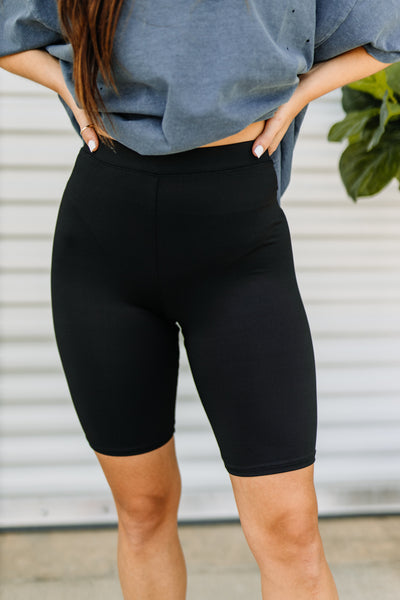 Let's Go Biker Shorts - Shop Amour Boutique Online