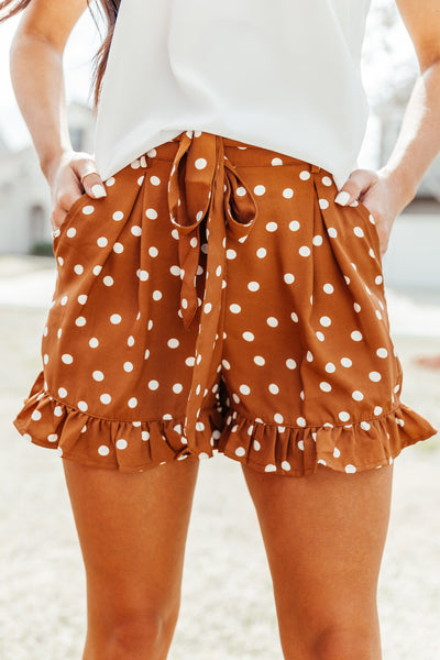 Pretty Woman Polka Dot Shorts - Shop Amour Boutique Online