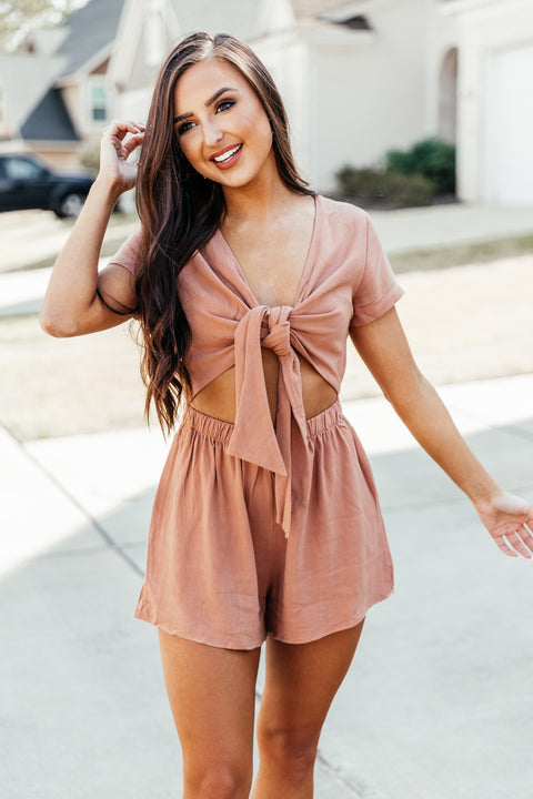 Summertime Romper: Ginger - Shop Amour Boutique Online