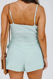 Hooked on You Wrap Romper - Shop Amour Boutique Online