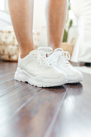 Thunder White Sneakers - Shop Amour Boutique Online