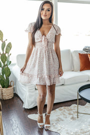 Pretty in Pink Floral Dress - Shop Amour Boutique Online