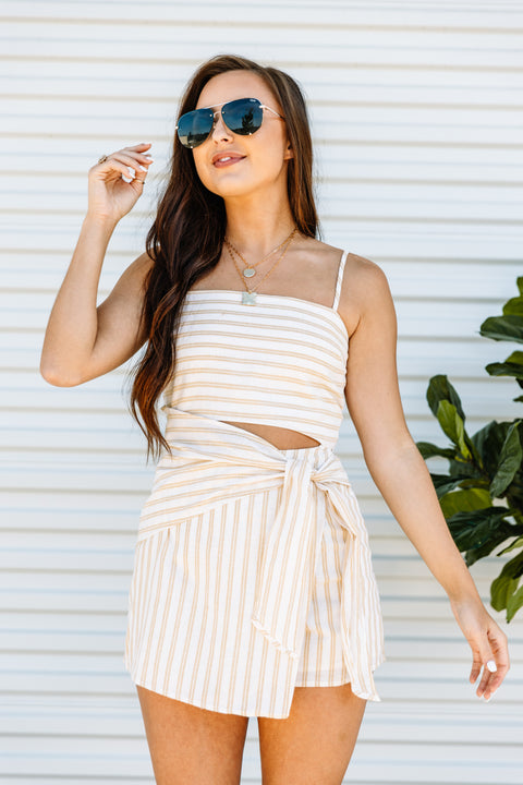 Sunny Daze Romper - Shop Amour Boutique Online