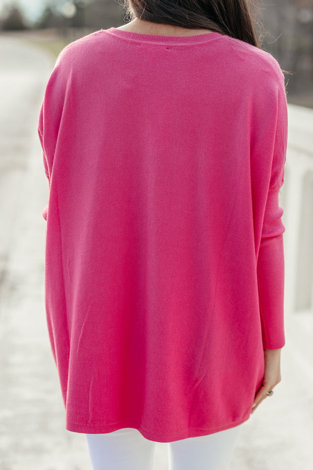 Pretty in Pink Top - Shop Amour Boutique Online