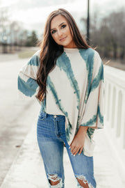 Over You Tie Dye Top - Shop Amour Boutique Online
