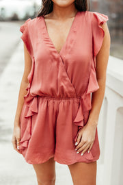 Frill Seeker Romper - Shop Amour Boutique Online