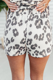 Lounging' in Leopard Shorts - Shop Amour Boutique Online