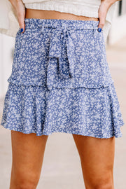 Singing the Blues Skort