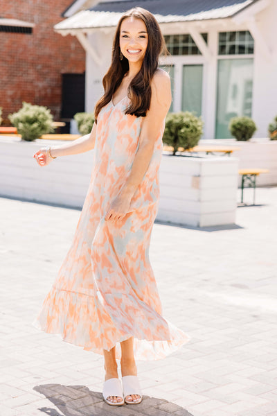 Let it Go Midi Dress