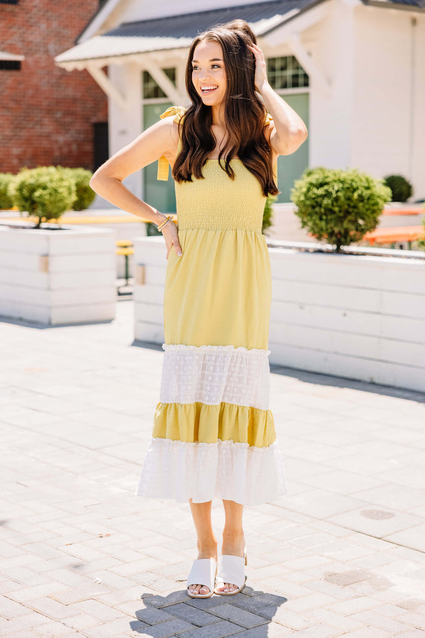 Beach Vacation Midi Dress