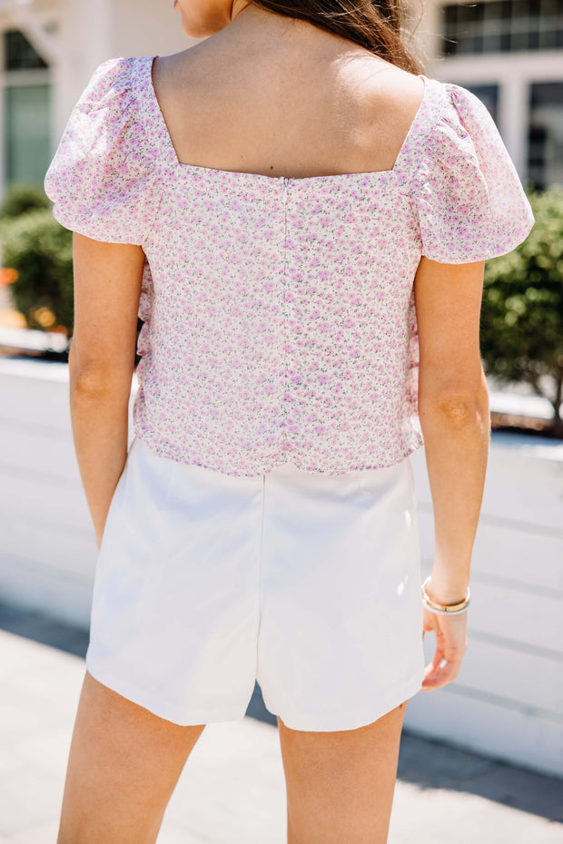 Ruffles of Fun Floral Top