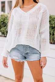 Spring Time Knit Sweater