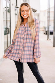 Easy does it Plaid Tunic