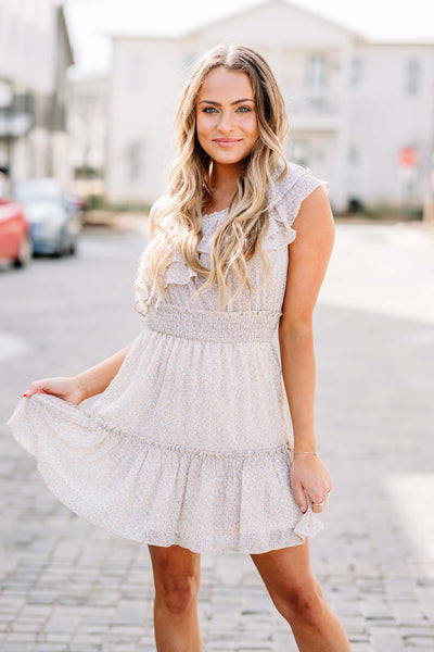 Summer Girl Ruffle Dress