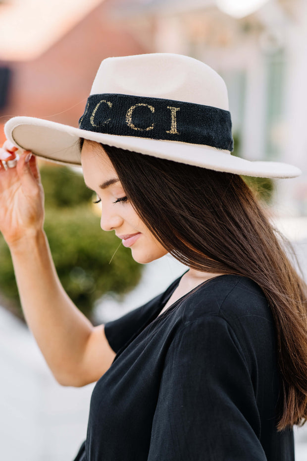 Oh So Trendy Hat Band: Black