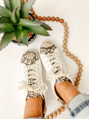 Snakeskin Sneaker - Shop Amour Boutique Online