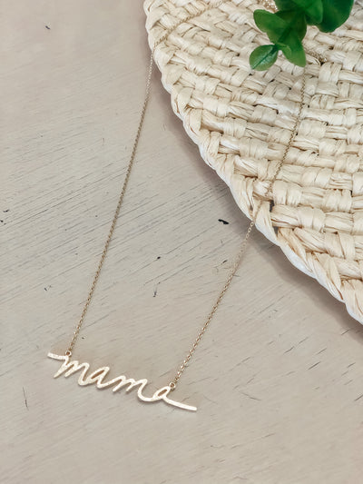 MAMA necklace - Shop Amour Boutique Online