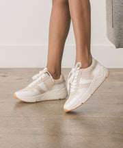 The Alani Beige Sporty Sneaker