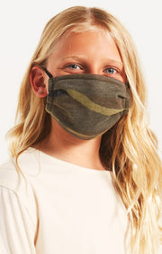 Kids Z Supply Camo Reuseable Face Mask (2 pack) - Shop Amour Boutique Online