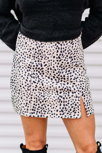 Cheetah Girl Mini Skirt