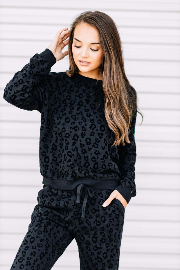 Z Supply Animal Flocked Pullover - Shop Amour Boutique Online