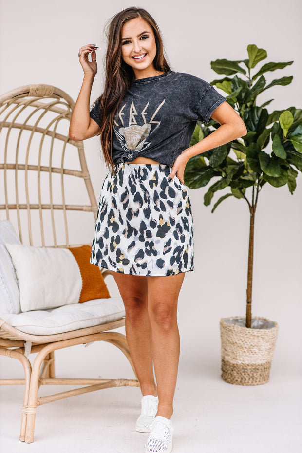Rebel Tiger Graphic Tee - Shop Amour Boutique Online