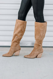 Lacey Knee High Western Boot