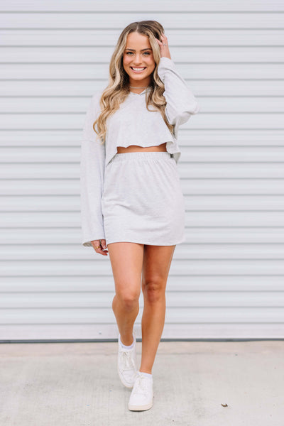 Just Lounging Skirt Set