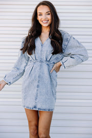That 80's Denim Dress