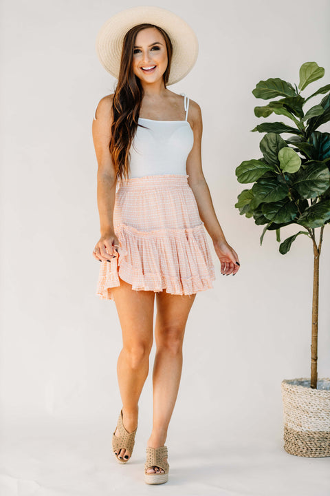 Sweet as a Peach Skirt - Shop Amour Boutique Online