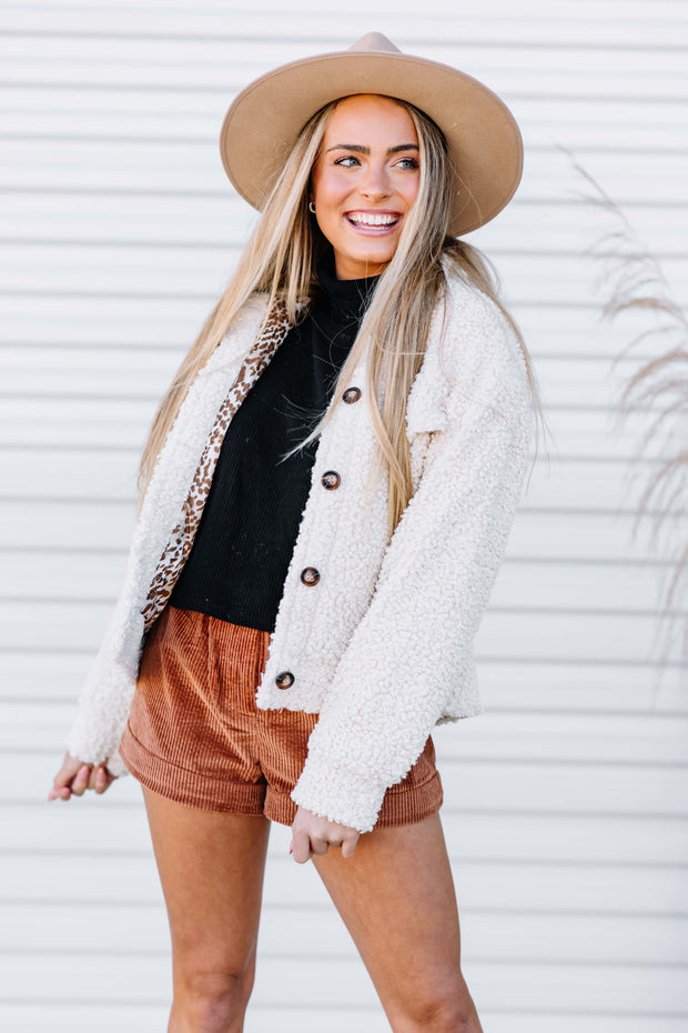 Cozy Teddy Sherpa Jacket