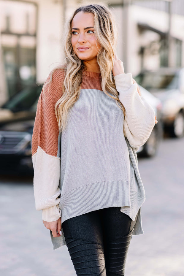 This is Everything Color Block Sweater