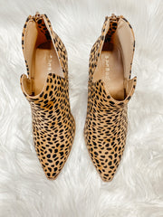 Upstream Ankle Bootie: Cheetah