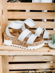 Madyson Platform: White - Shop Amour Boutique Online