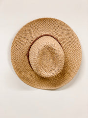 Braided Panama Hat - Shop Amour Boutique Online