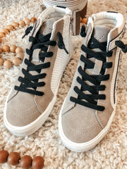 Vintage Havana Gladol High Sneaker: Taupe - Shop Amour Boutique Online