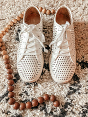 Milo Perforated Sneaker - Shop Amour Boutique Online