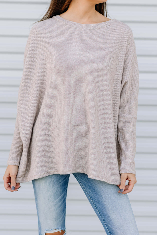 Cozy Days Knit Thermal Top