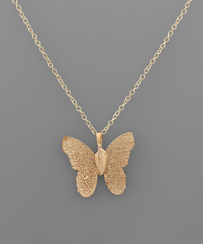 Filigree Butterfly Necklace - Shop Amour Boutique Online