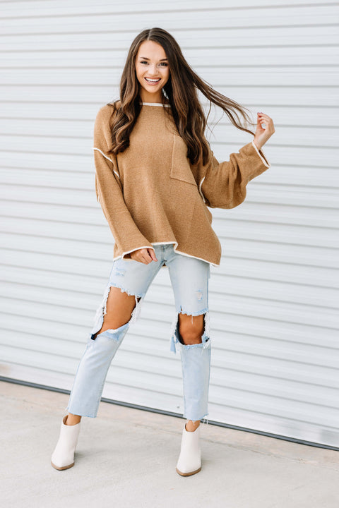 Caramel Latte Sweater
