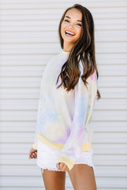 Tie Dye Fun Sweatshirt - Shop Amour Boutique Online