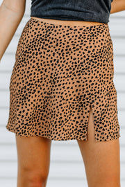 Feeling Fierce Cheetah Print Skirt - Shop Amour Boutique Online