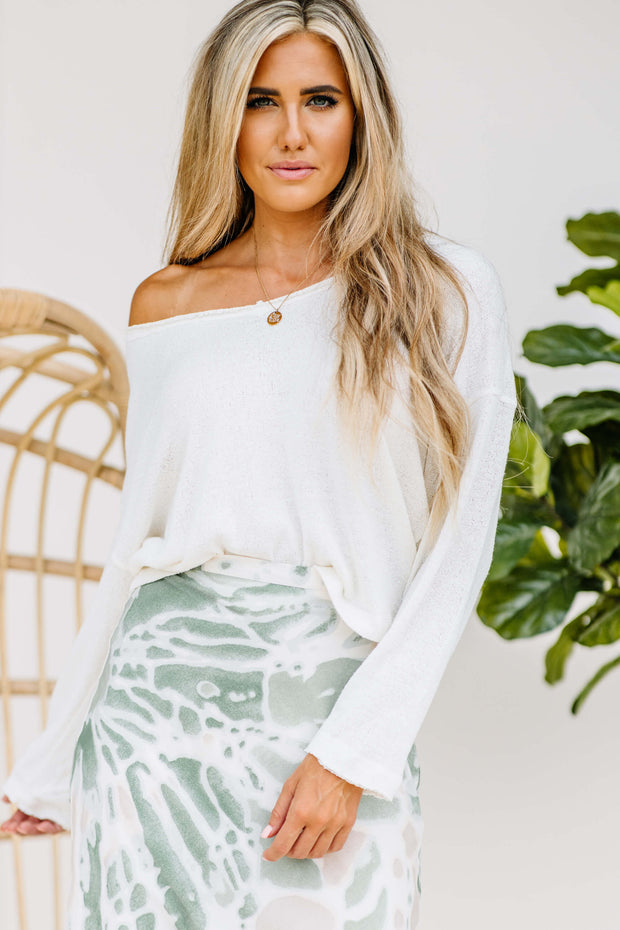 Knit Summer Sweater - Shop Amour Boutique Online