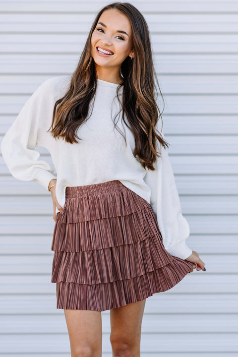 Layers of Fun Ruffle Skirt