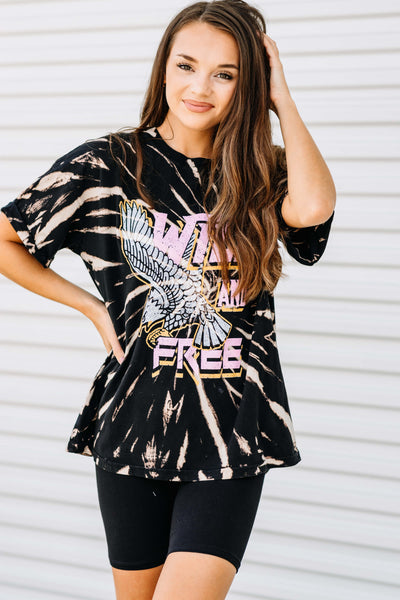 Wild and Free Graphic Tee
